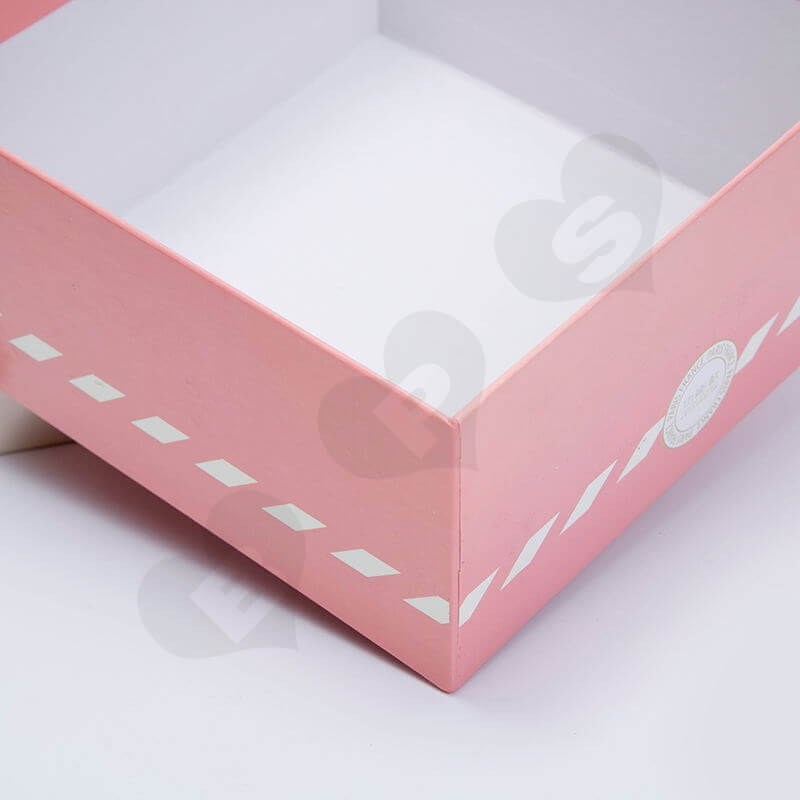 Custom Printed Rigid Box With Exposed Base For Underwear side view three
