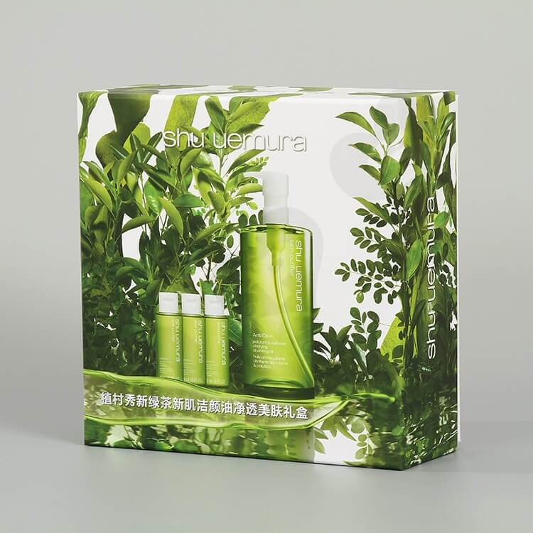Custom Printing Cardboard Beauty Products Packaging side view five