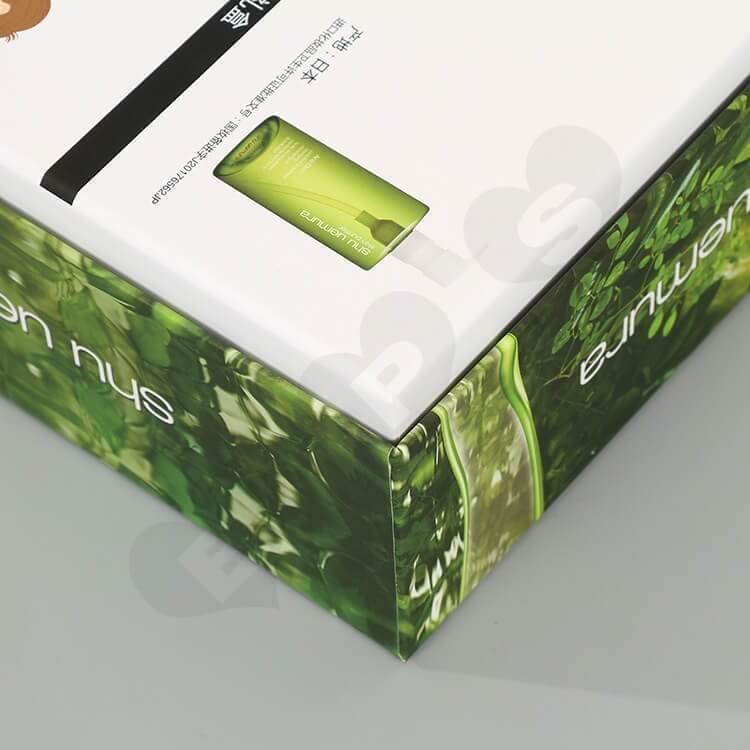 Custom Printing Cardboard Beauty Products Packaging side view four
