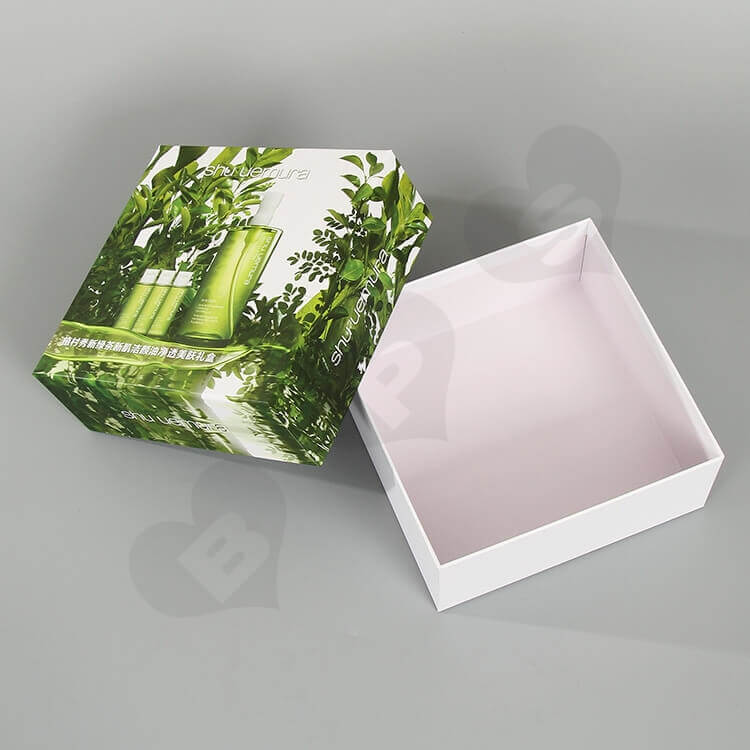 Custom Printing Cardboard Beauty Products Packaging side view one