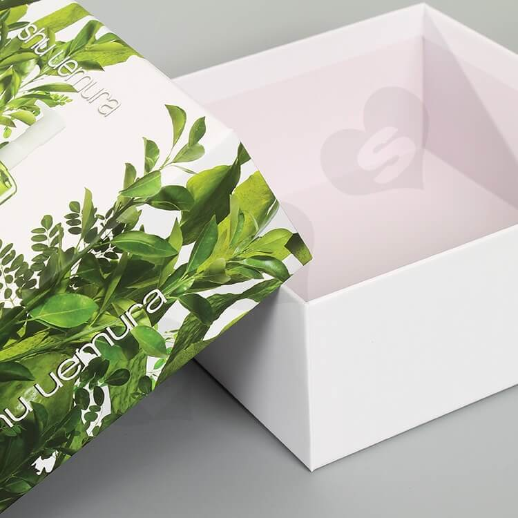 Custom Printing Cardboard Beauty Products Packaging side view three