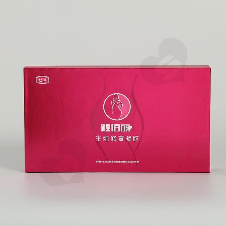 Custom Printing Cardboard Box For Productive Repair Gel side view four