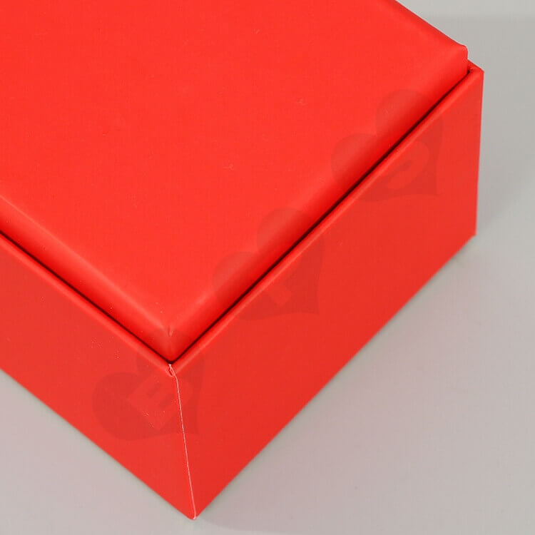 Custom Printing Cardboard New Year's Gift Box For Cosmetic side view four