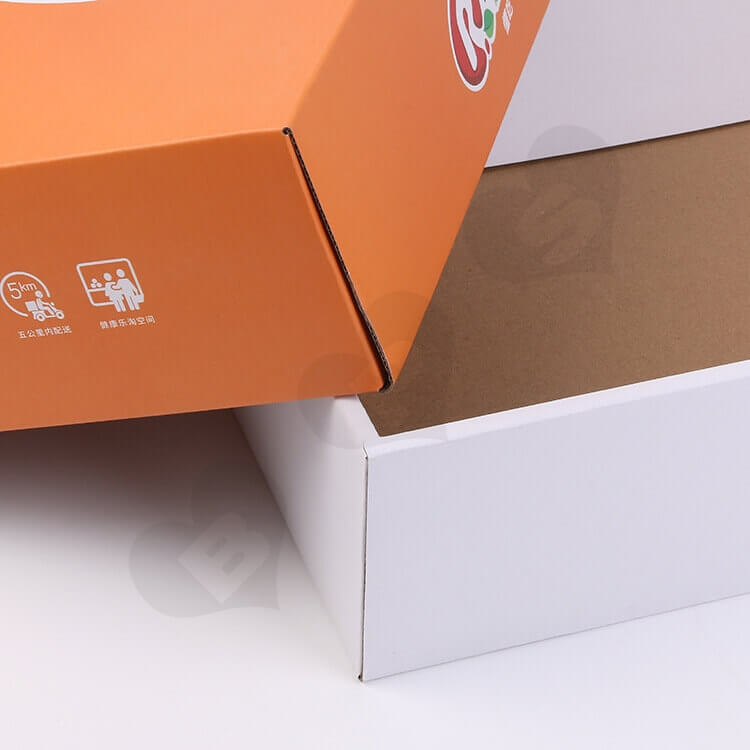Custom Printing Corrugated Fruit Shipping Box side view four