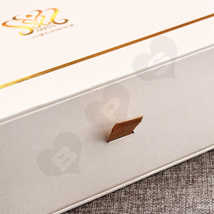 Custom Printing Cosmetic Drawer Box For Makeup Remover side view five