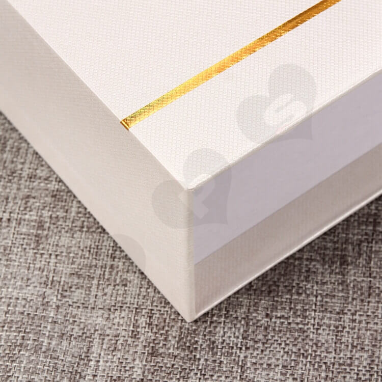 Custom Printing Cosmetic Drawer Box For Makeup Remover side view two