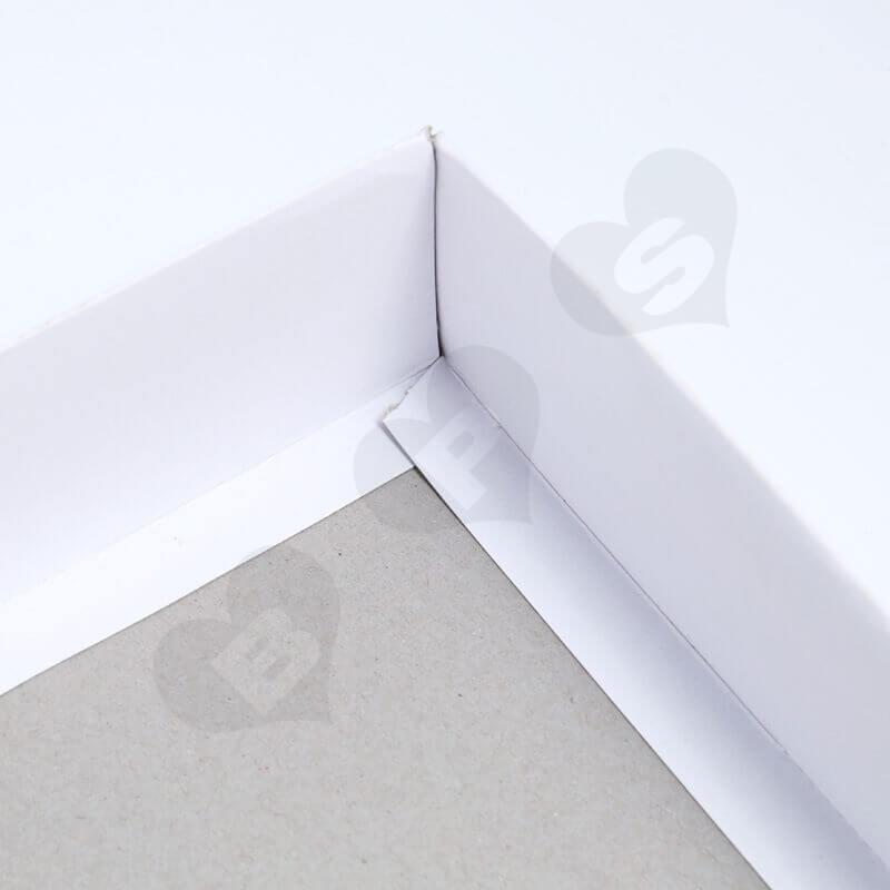 Custom Printing Duplex Paper Box For Socks side view four