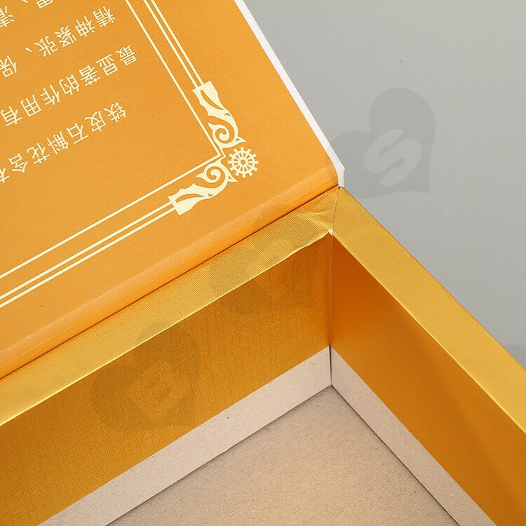 Custom Printing Gift Box For Health Medicine side view four