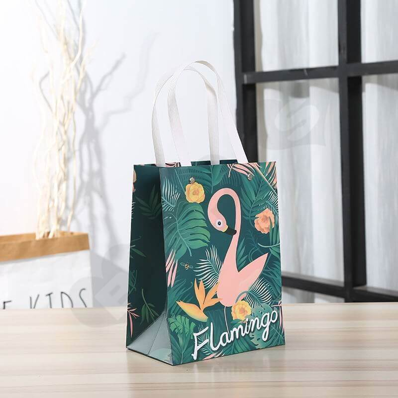 Custom Printing Gift Box with Paper Bag For Flamingo Toys side view four