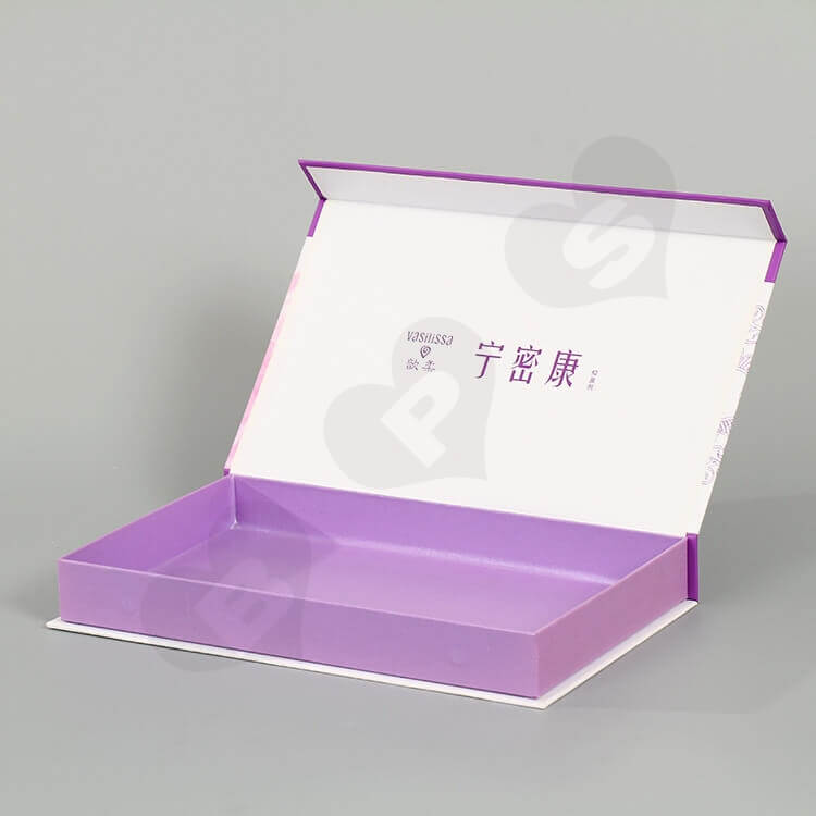 Custom Printing Matte Lamination Gift Box For Drug side view one
