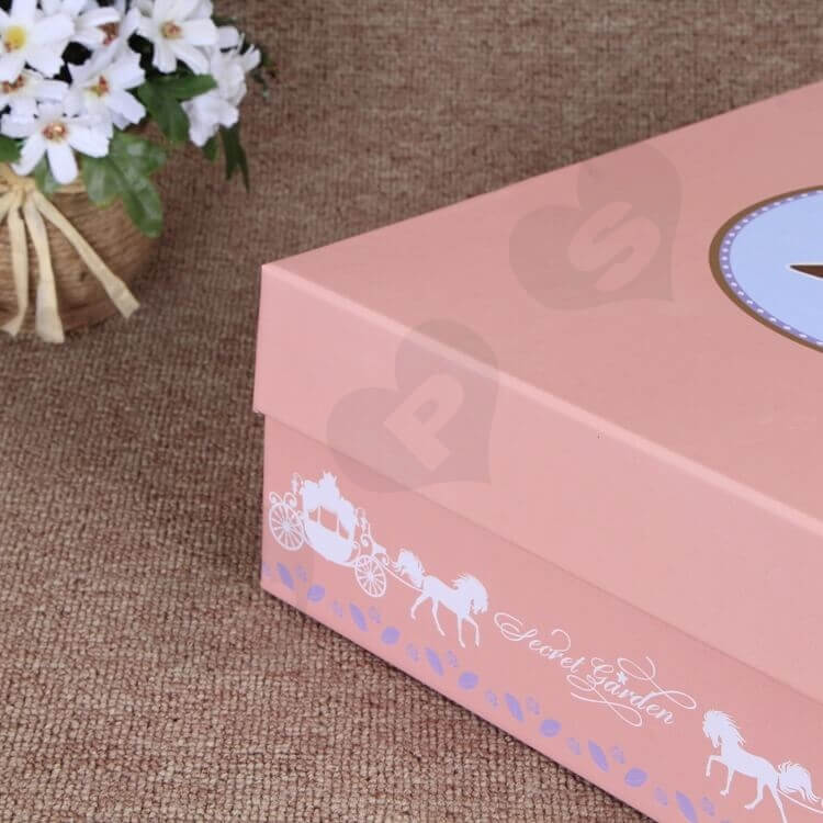 Custom Printing Special Box For Christmas Gift Books side view five