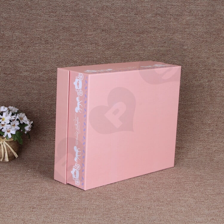 Custom Printing Special Box For Christmas Gift Books side view four