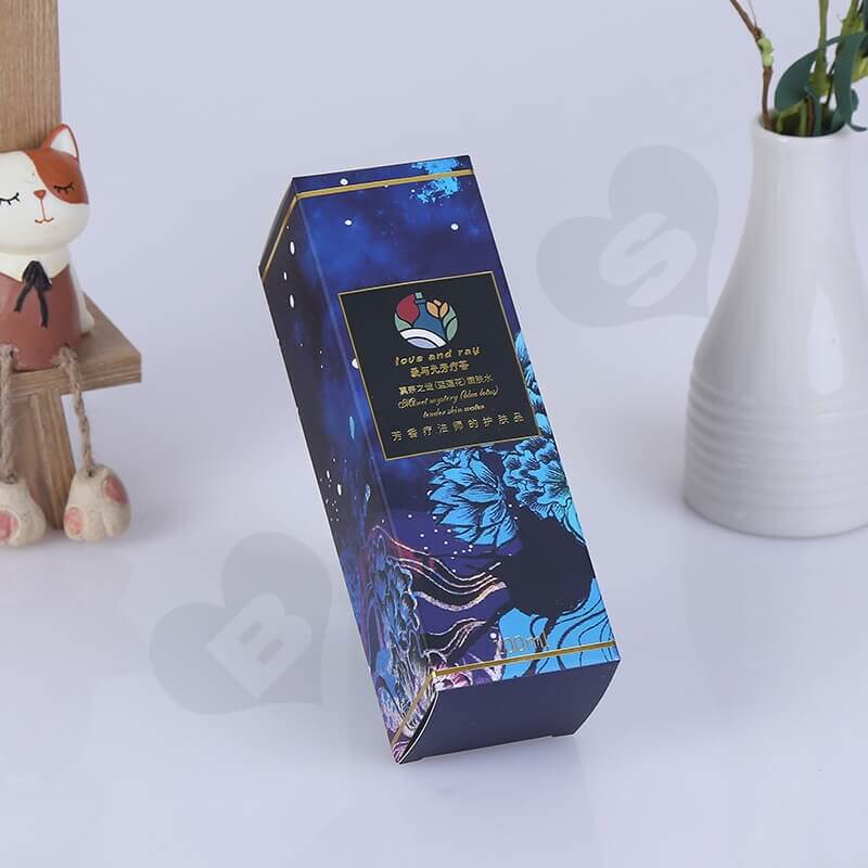 Custom Retail Packaging Box For Cosmetic Products side view five