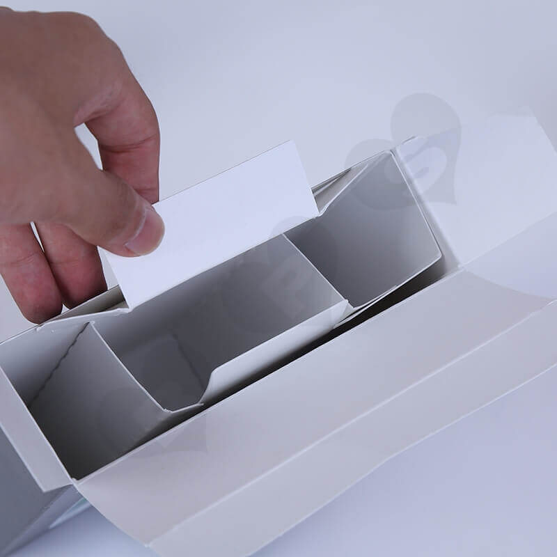 Custom Retail Packaging Box For Ear Thermometer side view four