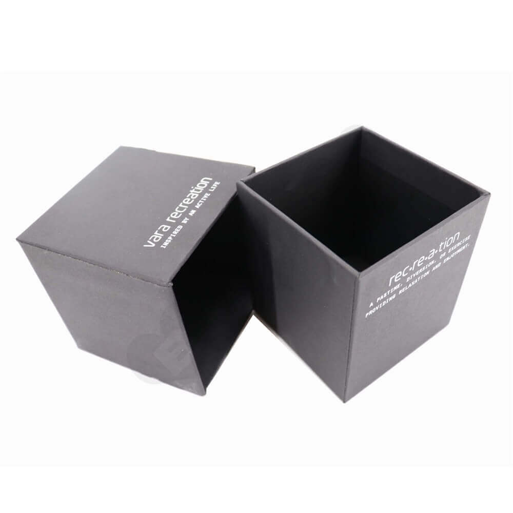 Custom Rigid Candle Packaging Boxes Side View Four