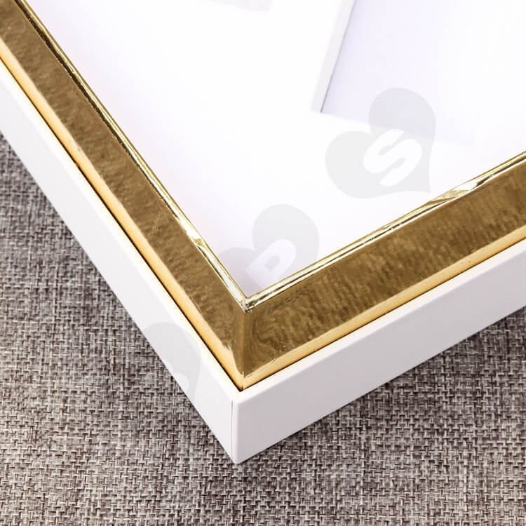 Custom Rigid Cosmetic Cardboard Gift Box side view six