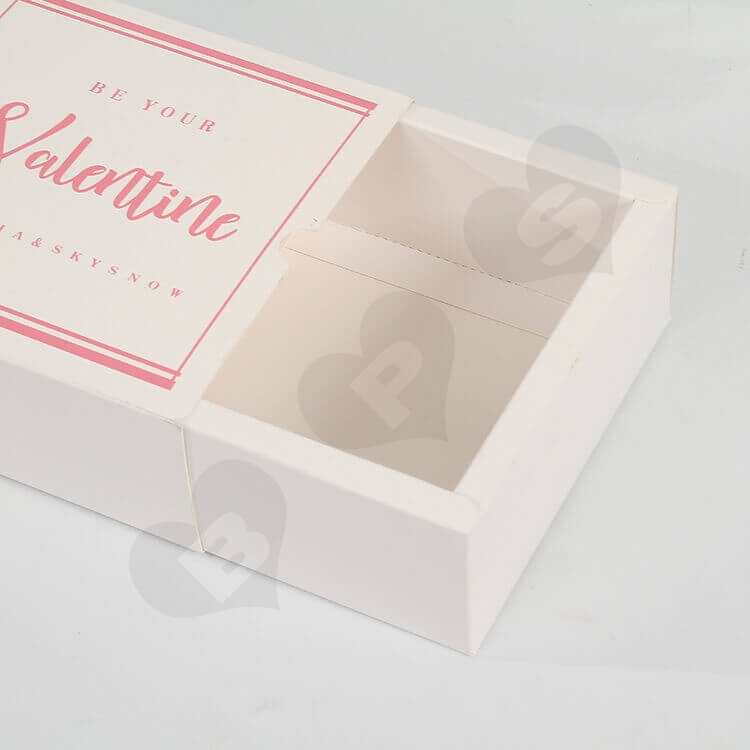 Custom Valentines Day Gift Box side view five