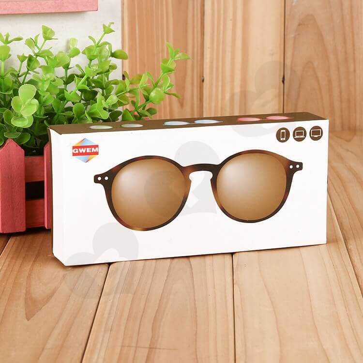 Customizable Printed Drawer Box For Sunglasses side view five