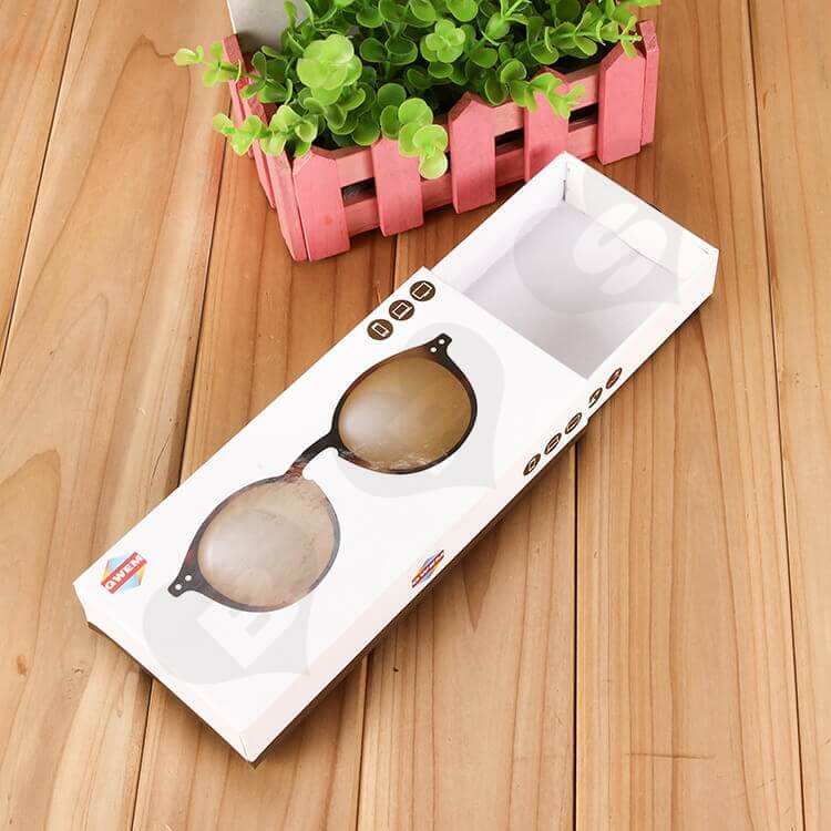 Customizable Printed Drawer Box For Sunglasses side view four