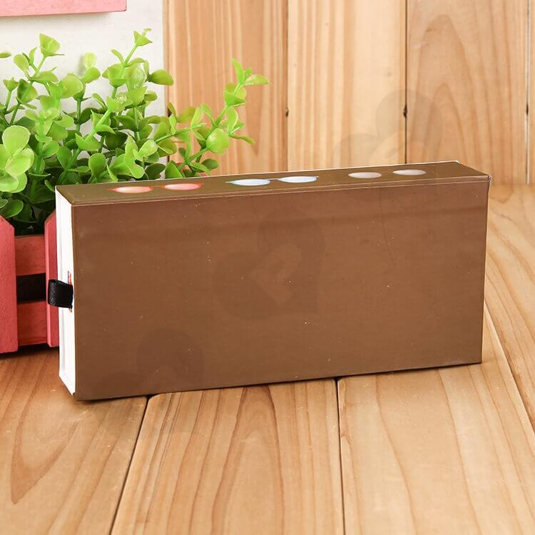 Customizable Printed Drawer Box For Sunglasses side view three