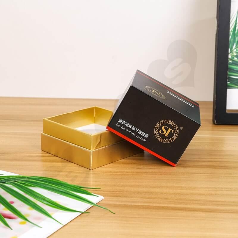 Customized Rigid Cardboard Box For Eye Paste side view four