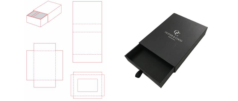 Drawer Box Die-line