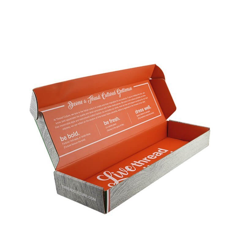 Fashion clothes packaging box