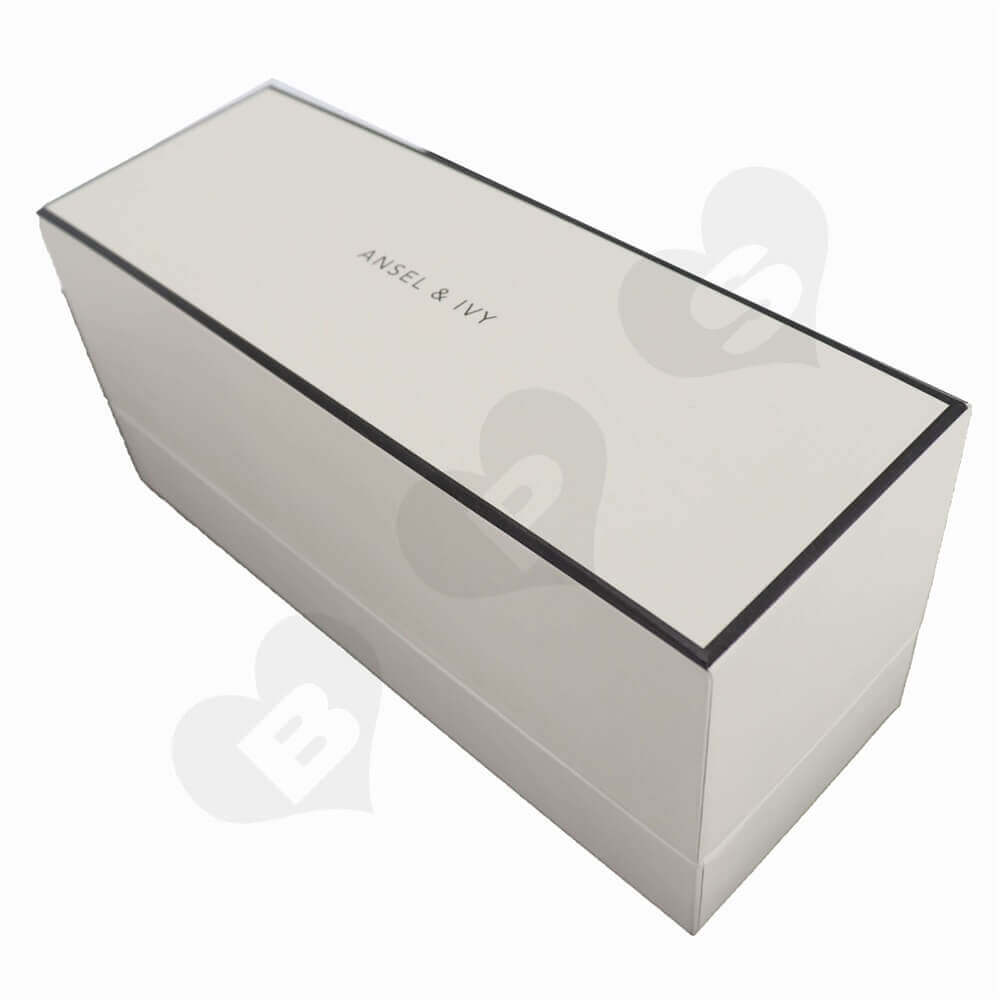 Flower Plants Packaging Boxes With Inserts Side View One