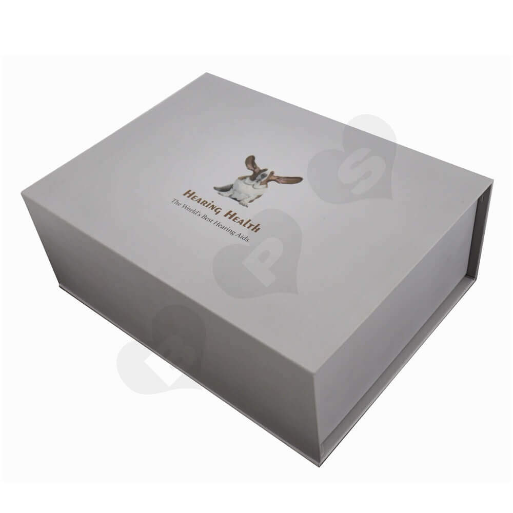 Hearing Aids Rigid Packaging Box side view one