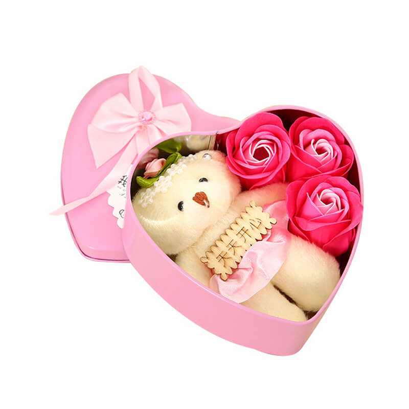 Heart Shape Flower Box Rose Box