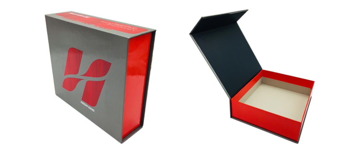 High End Magnetic Box Packaging For Apparel