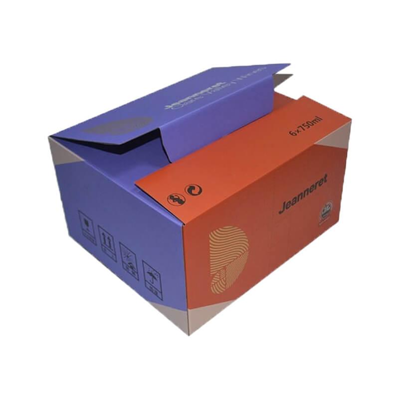Industrial use shipping carton box