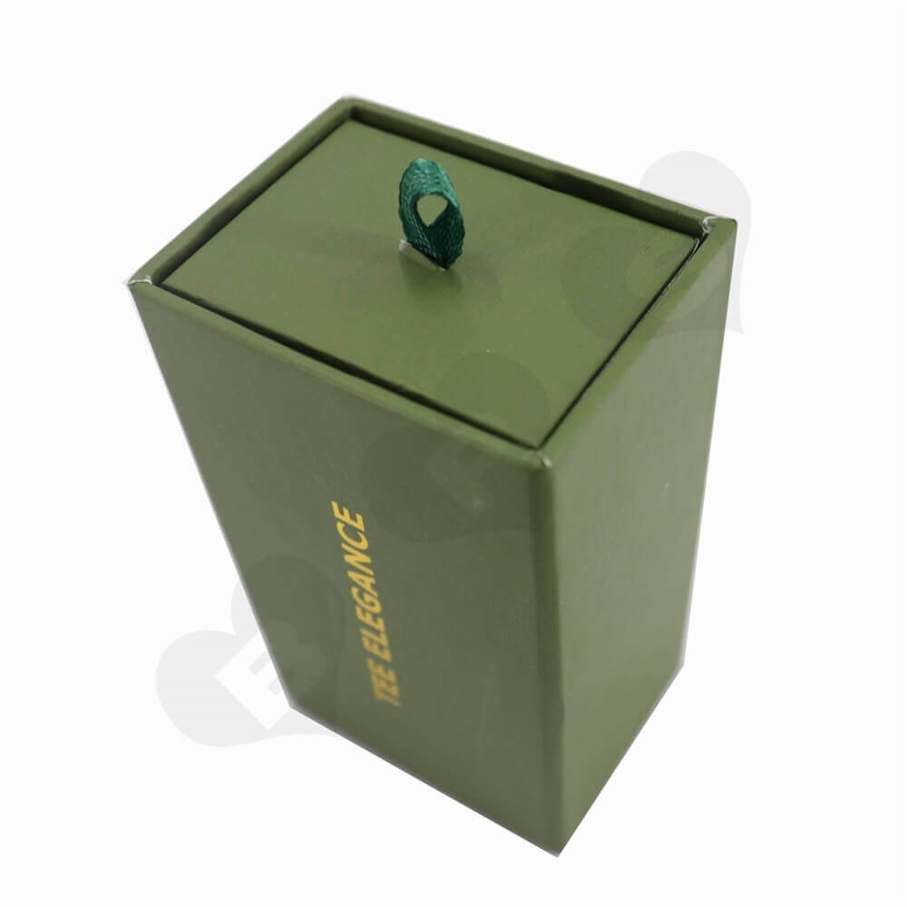 Jewelry Slip Packaging Boxes sideview three