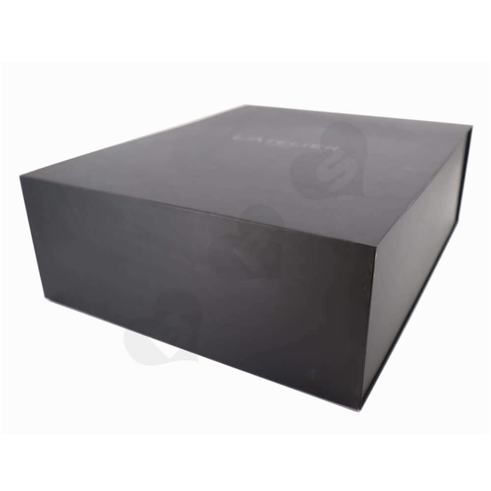 Large Apparel Rigid Gift Packaging Box side view one