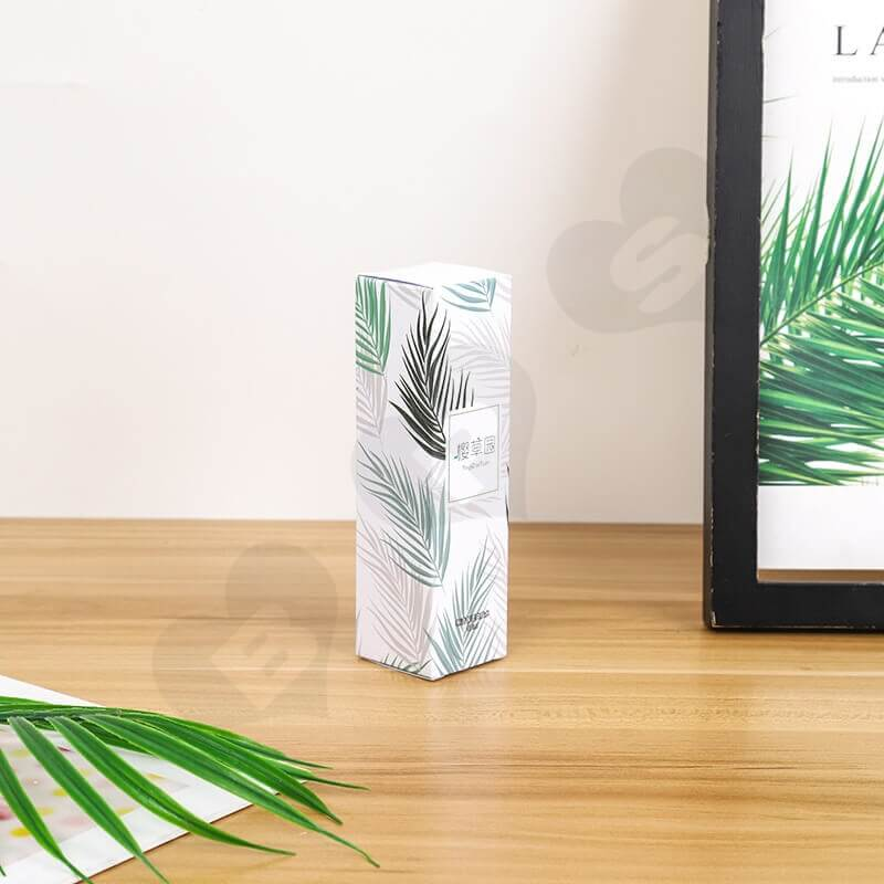 Luxury Cardboard Folding Box For Firming Lotion side view five
