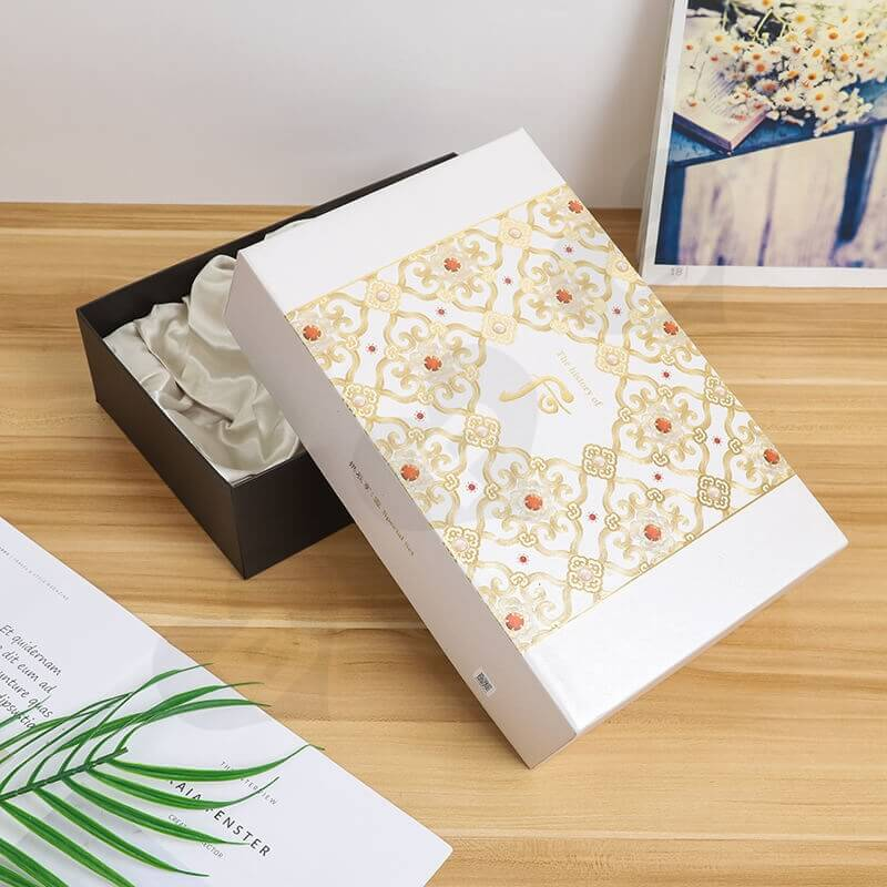 Luxury Cardboard Gift For Cosmetic Kit side view five
