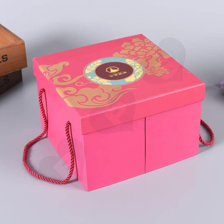 Luxury Chipboard Gift Box For Perfume side view three