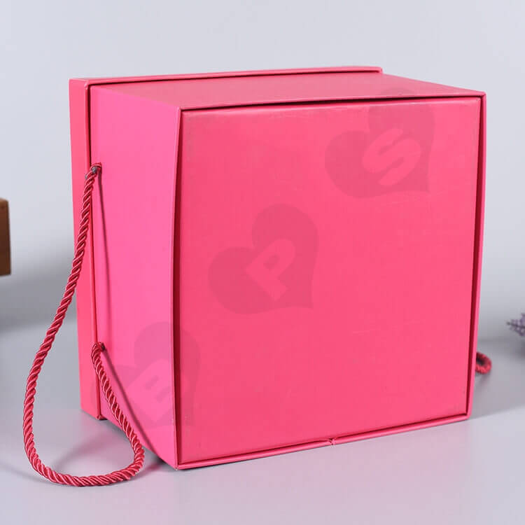 Luxury Chipboard Gift Box For Perfume side view two