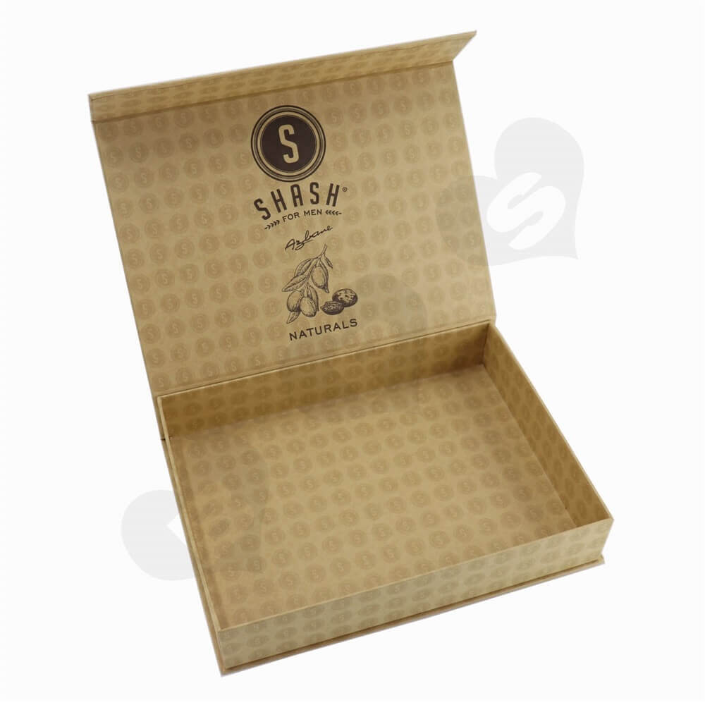 Luxury Essential Oil Box Double Side Printing side view one