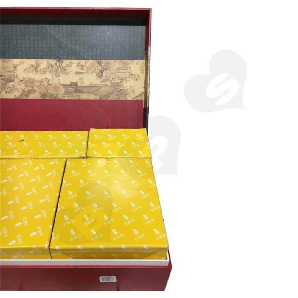 Luxury Porcelain Packaging Box Sideview Four