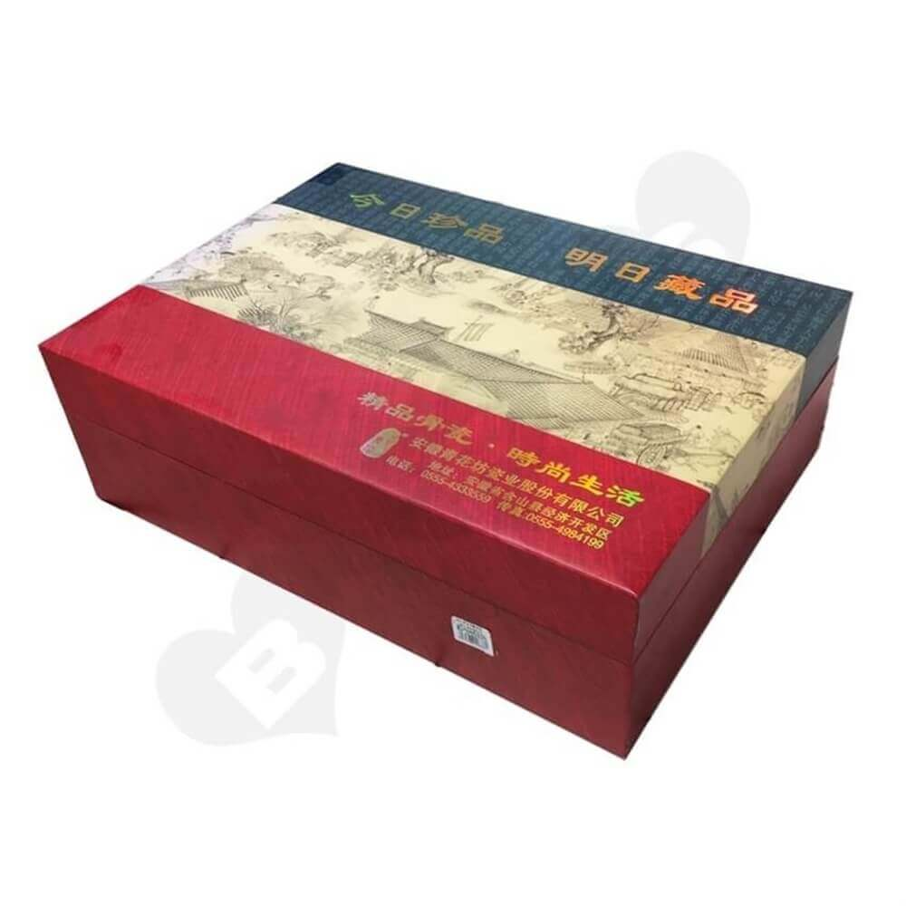 Luxury Porcelain Packaging Box Sideview One