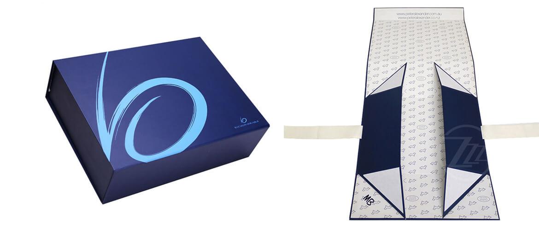 Luxury mens shirt gift box packaging