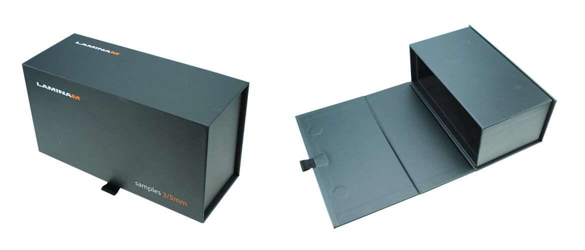 Magnetic Closure Box For Product Sample Piece