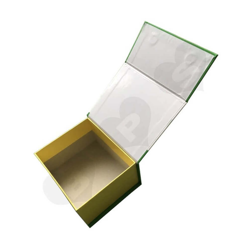 Magnetic Closure Cosmetic Packaging Box Sideview Three