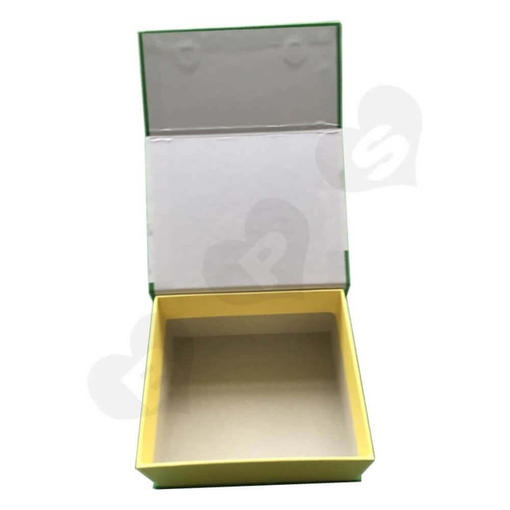 Magnetic Closure Cosmetic Packaging Box Sideview Two