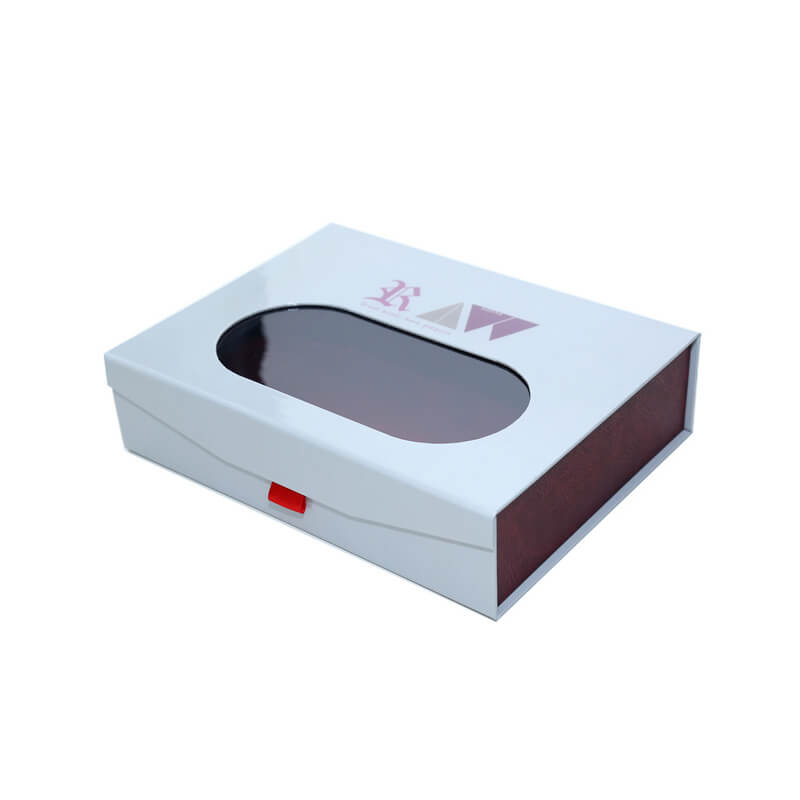 Magnetic Closure Gift Box with PVC Window