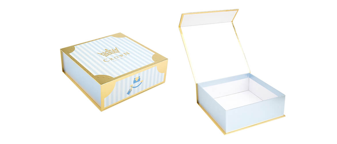 Magnetic Closure Rigid Box For Cosmetic Products