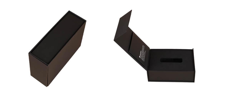 Magnetic Closure Rigid Box With Eva Insert For Tea Tube