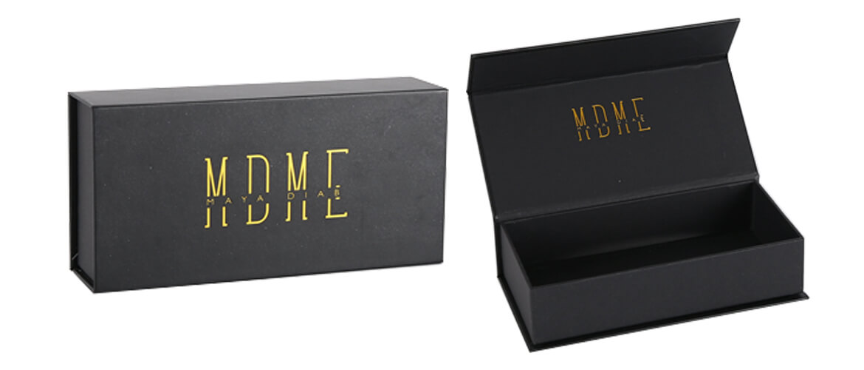 Matte Black Magnetic Closure Box For Diamond