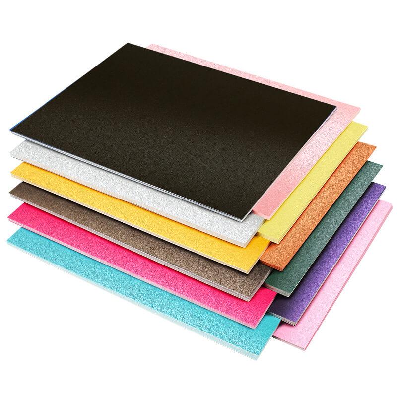 Metallic cardstock paper